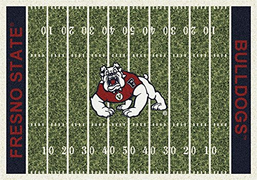 Milliken Cal State Fresno College Home Field Area Rug, 5'4