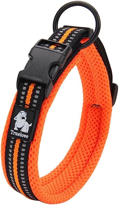 Creation Core 3M Reflective Mesh Padded Dog Collar | Amazon