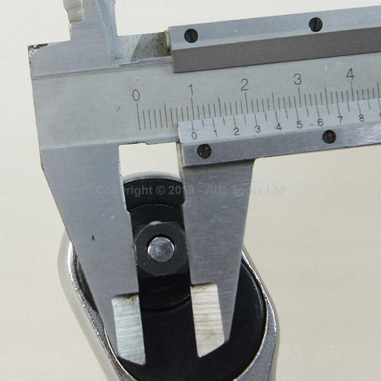 421905 1//4 24 Teeth Socket Ratchet Drive Handle Wrench