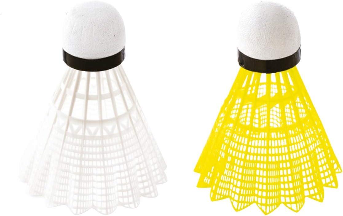 6 Pièces Volant De Badminton 3 Couleur Accessoire Sport Badminton