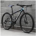614qsgIDNoL. SS150 Bicicletta, Pieghevole Bicicletta Mountain Bike, 26 Pollici 24 velocità Biciclette, Bicicicletta MTB, Assorbimento degli…