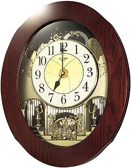 Rhythm Magic Motion Musical Clock – Grand Nostalgia Entertainer – Micro Fiber Cloth Incl.