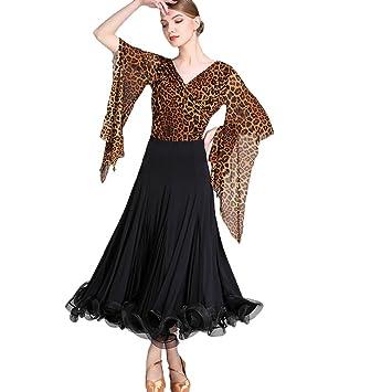9796b4ae99 Wangmei Ballroom Dance Dresses Spandex Tulle Luxury Womens Performance  Modern Performance Dresses