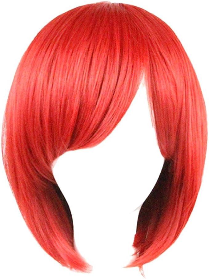 parrucca rossa corta