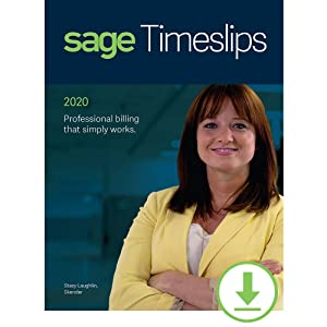 Sage Timeslips 2020 Time and Billing 1-User [PC Download]