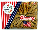 Green Bay Wisconsin Aged Whole Root Ginseng 4 Oz