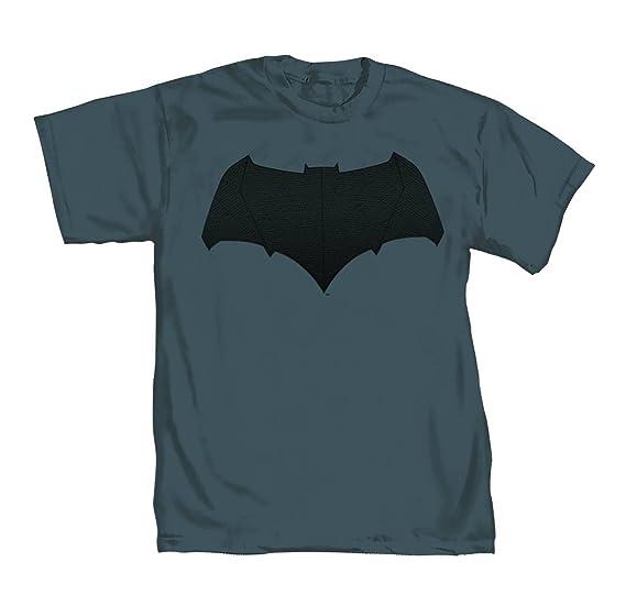 Dc Comics Batman Vs Superman Bat Logo Mens Grey T Shirt Amazon