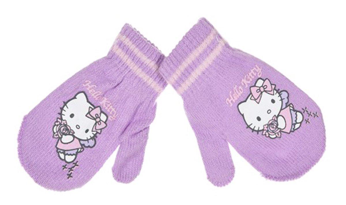 Muffole Bambino Ragazza Hello Kitty 6colori taglia unica (6–36mesi) viola Violet taglia unica
