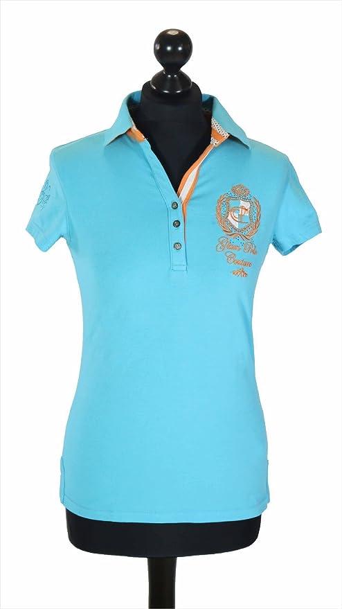 HV Polo mujer Polo Chela, XS, color turquesa: Amazon.es: Deportes ...