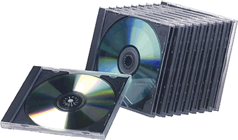Compucessory 442455 - Lote de Cajas para CD (10 Unidades ...
