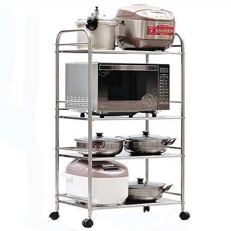 WSSF - Scaffali per cucina Mensola multifunzionale a pavimento in ...