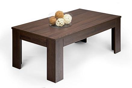Mobilifiver Easy Tavolino da Salotto, Legno, Rovere Moro, 100.0x55 ...