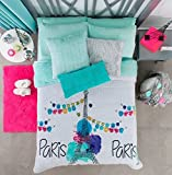 Paris Chic EIFFEL TOWER French,Teen Girls Himalaya Blanket Twin