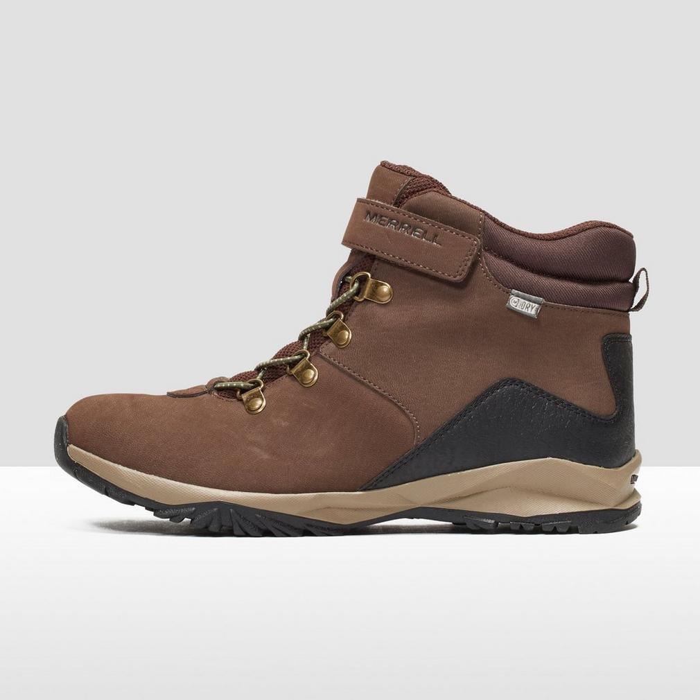 1a58772af4c Merrell Boys' Ml-b Alpine Casual Boot Waterproof High Rise Hiking ...