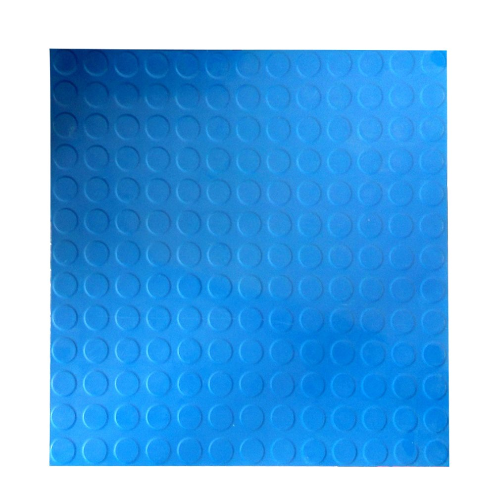 Hefty Mat Anti-slip,Rubber flooring Matting for Airport,Factory,Hospital,Museum,Garage and Other public areas,19.7×19.7×0.12 inch