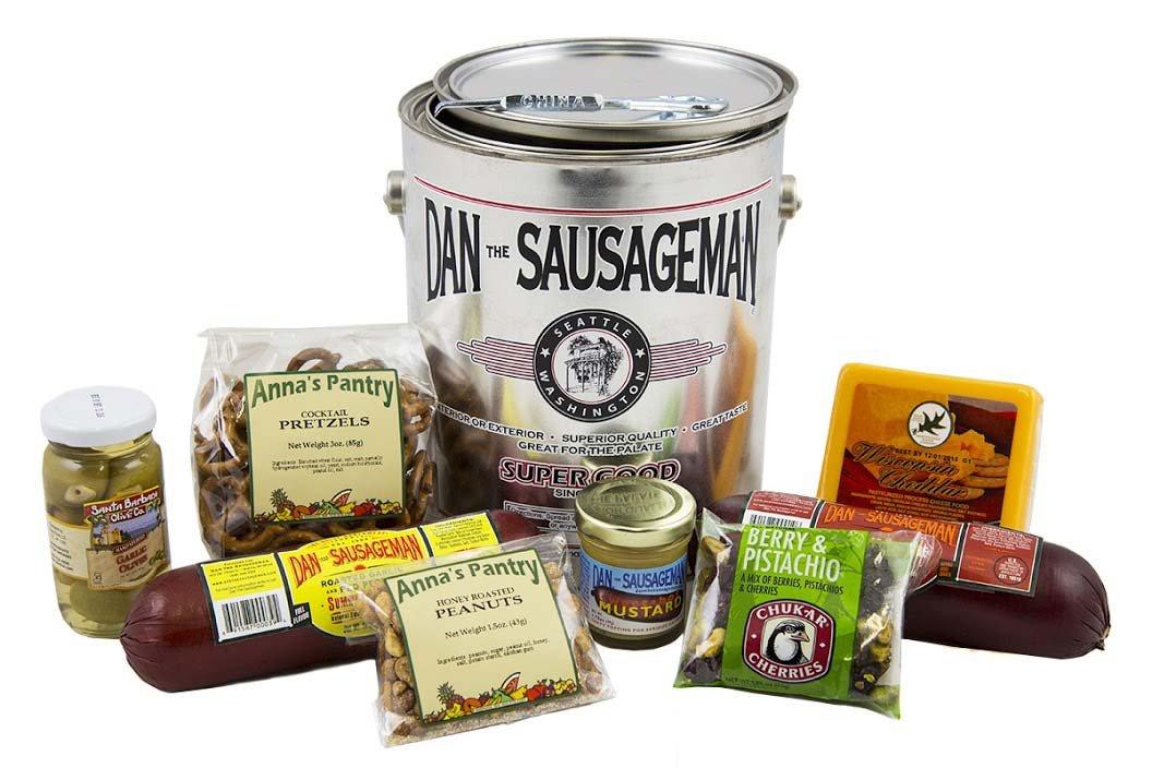 Organic Stores Dads Premium Pail of Treats- Medium- DSM-prfct1