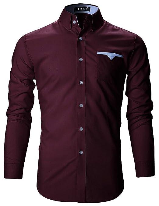 FINIVO FASHION Men's Cotton Casual Shirt Men's Casual Shirts