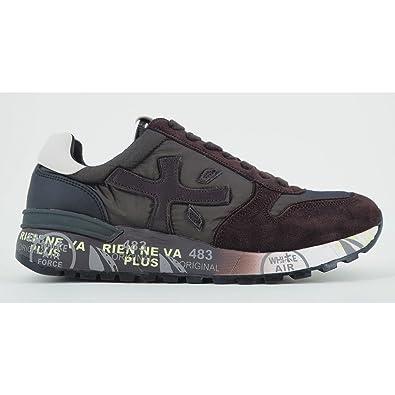 PREMIATA Herren Sneaker Braun Marrone Grigio, Grau - Grau - Größe ... 75b5d0cc8b