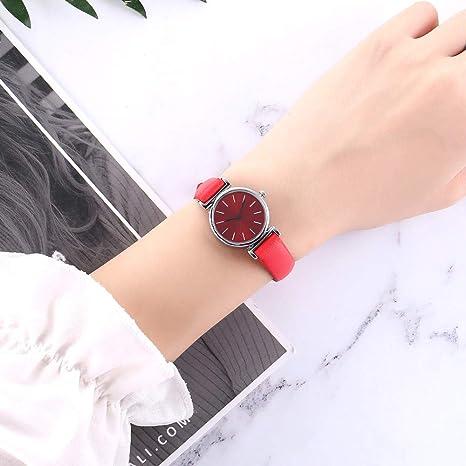 BBestseller Moda Reloj de Pulsera V359,Cuarzo Romana Cuero de Imitación Relojes Regalo Ropa de turista Relojes Deportivos (Gris 1): Amazon.es: Relojes