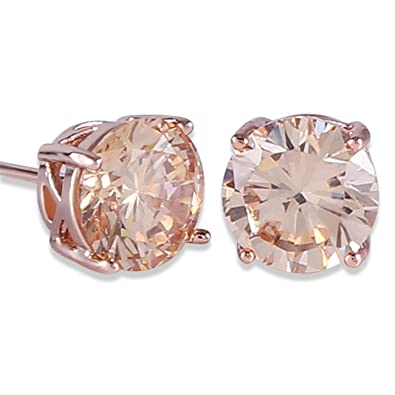 Amazon.com  GULICX Rose Gold Tone Yellow Crystal Royal Journey ... 3f4cc7ef46