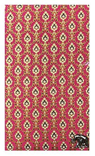 Thai Pattern Fabric Check Presenter, Restaurant Ticket Holder, Server Checkbook, Waitstaff Organizer, Waitress Books, Server Books, Waitress Accessories, Credit Card Book by Kathy