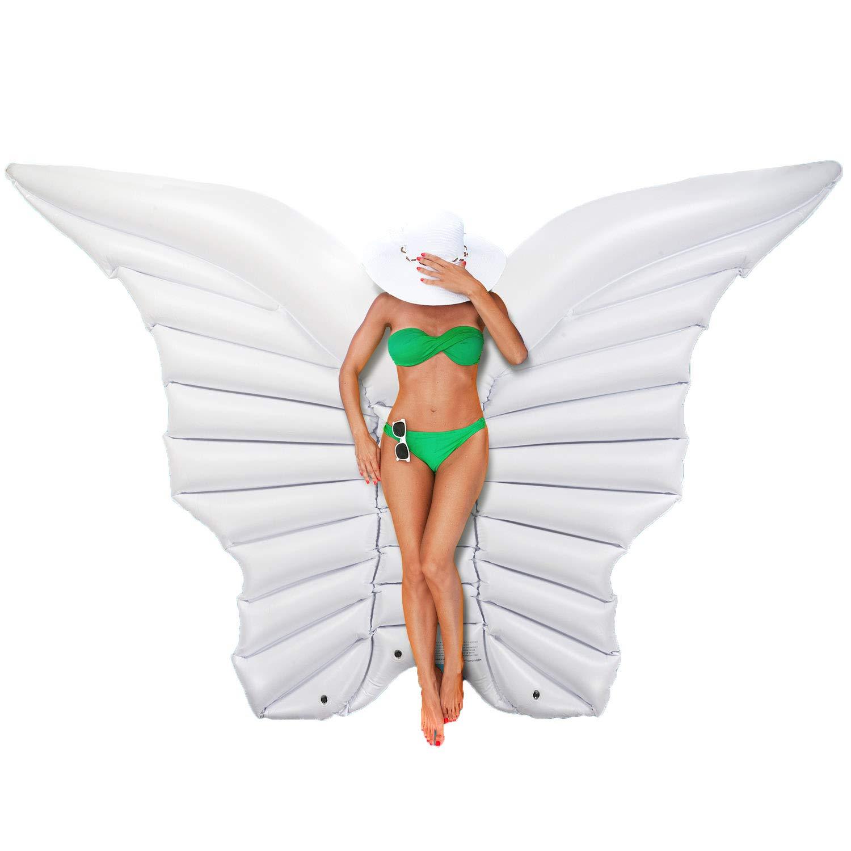 Aufblasbare Engelsflügel 250 cm Flügel - Luftmatratze Schmetterlingsflügel Badeinsel Goods & Gadgets