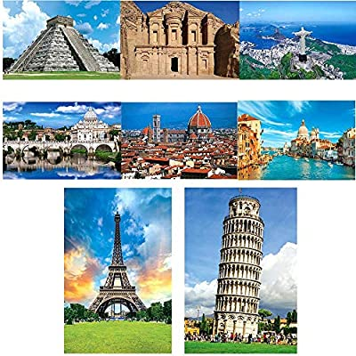HiMoliwa Puzzle 1000 Piece Jigsaw Puzzle for Kids Adults, Landscape Bay Castle Large Puzzle Entertainment Brain IQ Developing Game Toy Gift(Size:29.5x19.7 inch): Toys & Games
