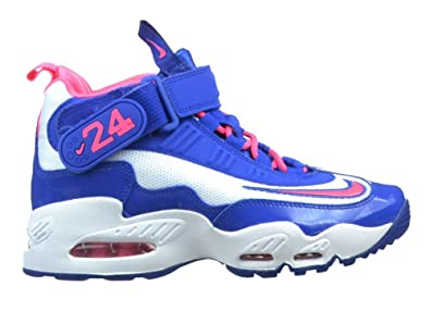 best website 534c1 8846b Image Unavailable. Image not available for. Color  Nike Air Griffey Max 1  Grade School Size 3.5 (White   Digital Pink   Game