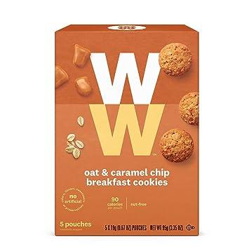 Amazon.com: WW Galletas de Avena y Caramelo Chip Desayuno ...