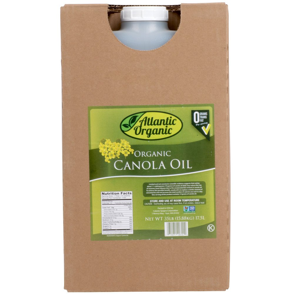 TableTop King 100% Pure Organic Canola Oil - 35 lb. by TableTop King