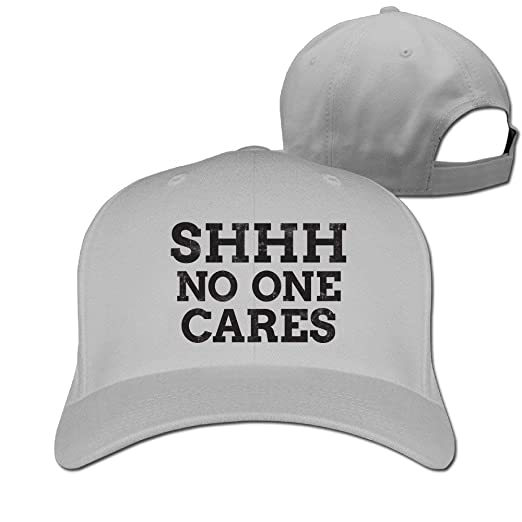 3ee5a068944 Fashion Adult Baseball Cap No One Cares Summer with Outdoors ...
