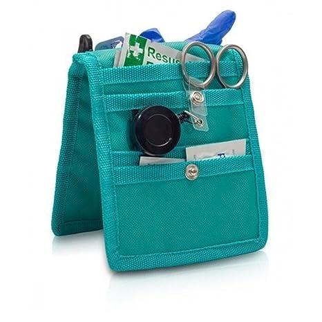 Queraltó Pack 4 organizadores de enfermería Keens para Bata o Pijama | Colores: 1 Morado, 1 Rosa, 1 Azul y 1 Verde | Lote Ahorro | Elite Bags | Medidas: 14 ...