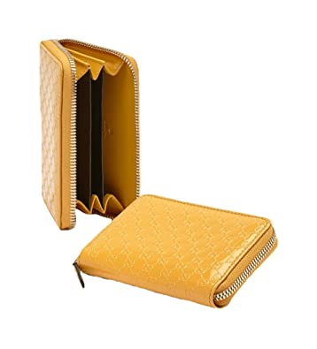 31ff6a1c1dd9 Amazon.com: Gucci Wallet for Women Zip Around Card Case Wallet 255452,  Yellow Patent Leather: Shoes