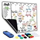 """Monthly Magnetic Dry Erase Calendar 
