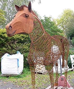 Caballo 3d lebensgroß XXL 220 x 260 cm caballo semental ...