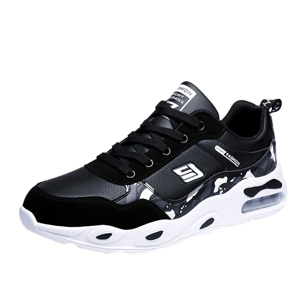 SSUPLYMY Herren Mode Turnschuhe Leichtgewicht Atmungsaktiv Laufschuhe Bequeme Weicher Boden Sneakers Outdoor Casual Schnürschuhe Freizeitschuhe