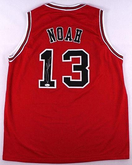Joakim Noah Autographed Signed Bulls Jersey - JSA Certified at ...