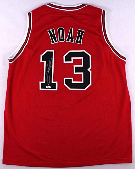 Image Unavailable. Image not available for. Color  Joakim Noah Autographed  Signed Bulls Jersey ... 93060301c