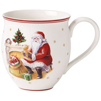 Winter Bakery Delight mug père noel près cheminée Villeroy et Boch ...