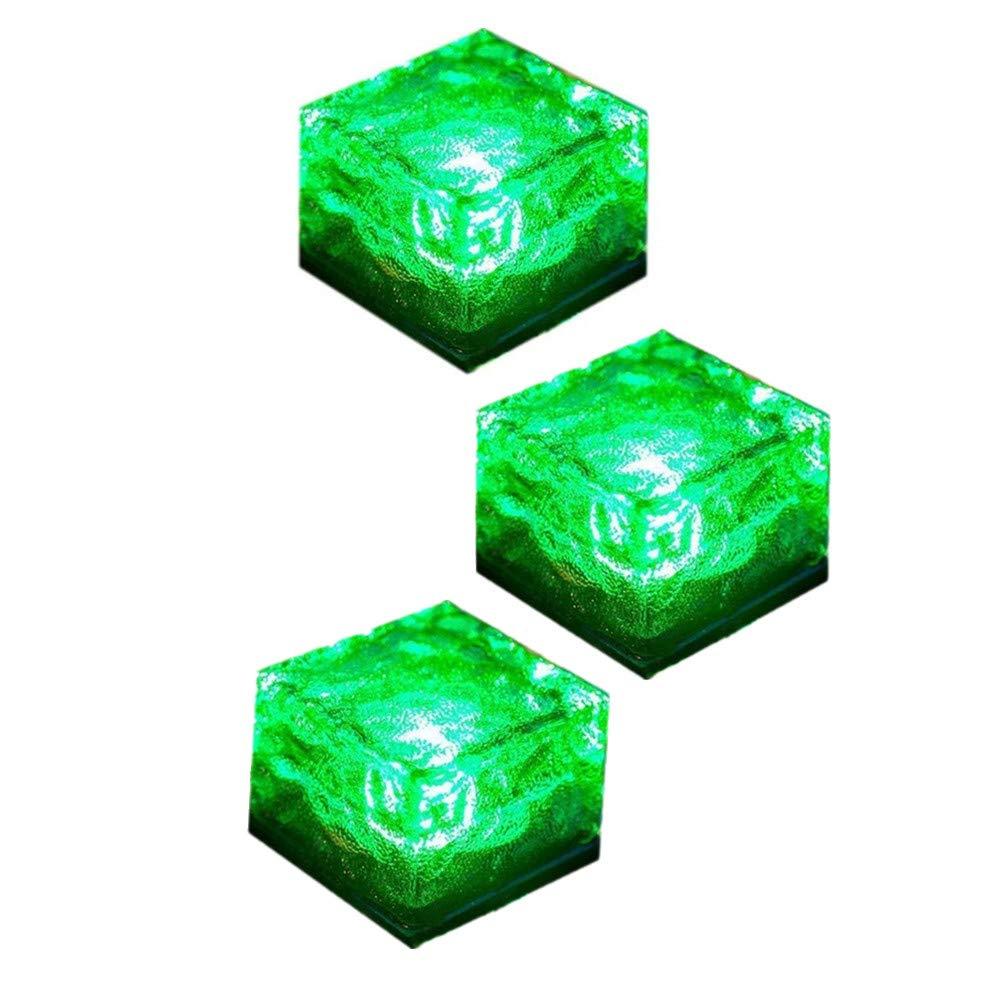 Sunboia - Cubitera de Hielo Solar con luz LED y Piedra de ladrillo ...