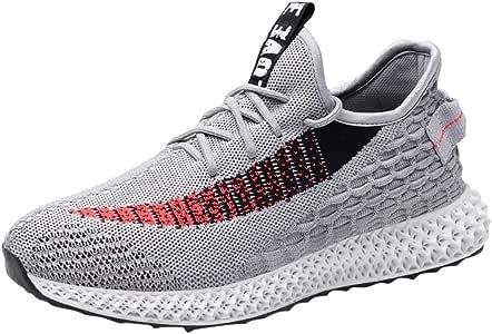 Bluestercool - Zapatillas de running para hombre, modernas, antideslizantes, transpirables, zapatillas de deporte, deportivas, multideportes, para exteriores: Amazon.es: Instrumentos musicales