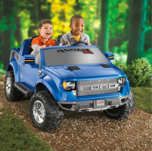 8914951d02a36 Power Wheels Ford F-150 Raptor 12-Volt Battery-Powered Ride-On - Buy Online  in UAE.