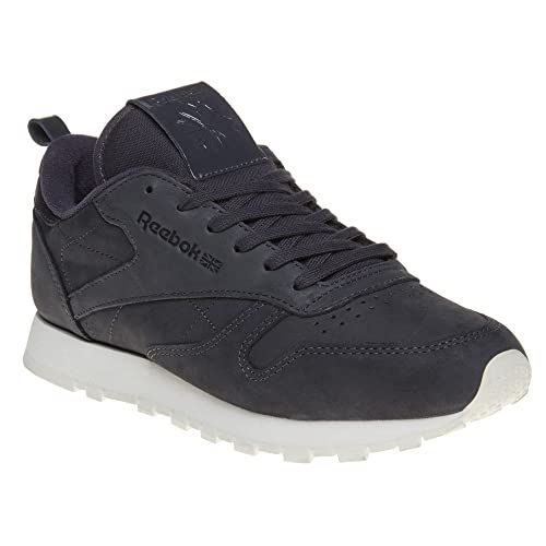 a9d8ba82afe Reebok Classic Leather Trainers Grey 4 UK  Amazon.co.uk  Shoes   Bags