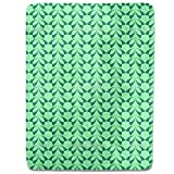 Wall with Leaves Fitted Sheet: King Luxury Microfiber, Soft, Breathable