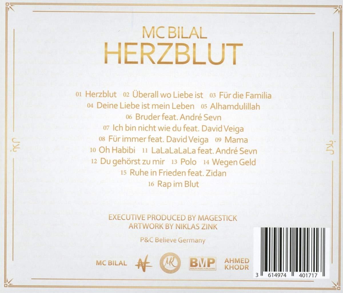 Herzblut Handsigniert Mc Bilal Amazon De Musik