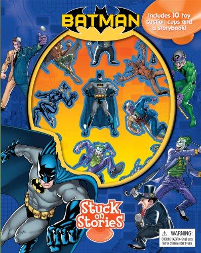 Batman Stuck on Stories by Phidal Publishing Inc. (2014) Board book