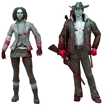 Mcfarlane Toys JAN120621 Walking Dead Series 1 Rick and Michonne Action Figure 2-Pack  sc 1 st  Amazon.ca & Mcfarlane Toys JAN120621 Walking Dead Series 1 Rick and Michonne ...