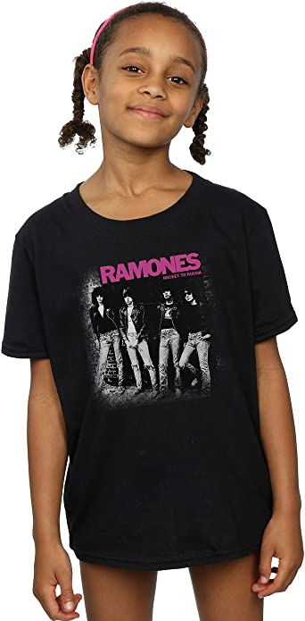 Absolute Cult Ramones Niñas Rocket To Russia Faded Camiseta ...