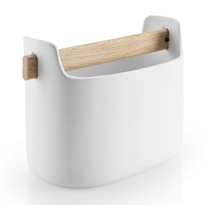 22,1/x 16,5/x 13/cm Tool Box Eva Solo 5706631162173/Soporte para Utensilios para la Cocina cer/ámica Blanco Altura: 20/cm 530637