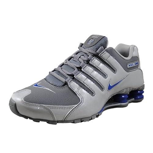 size 40 5a272 313d1 Scarpa Uomo casual Nike Shox Nz EU, grigio, taglia 42 Amazon.it Scarpe e  borse